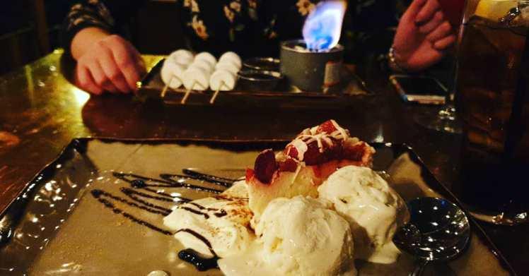 Strawberry Cheesecake and Toasting Marshmallows