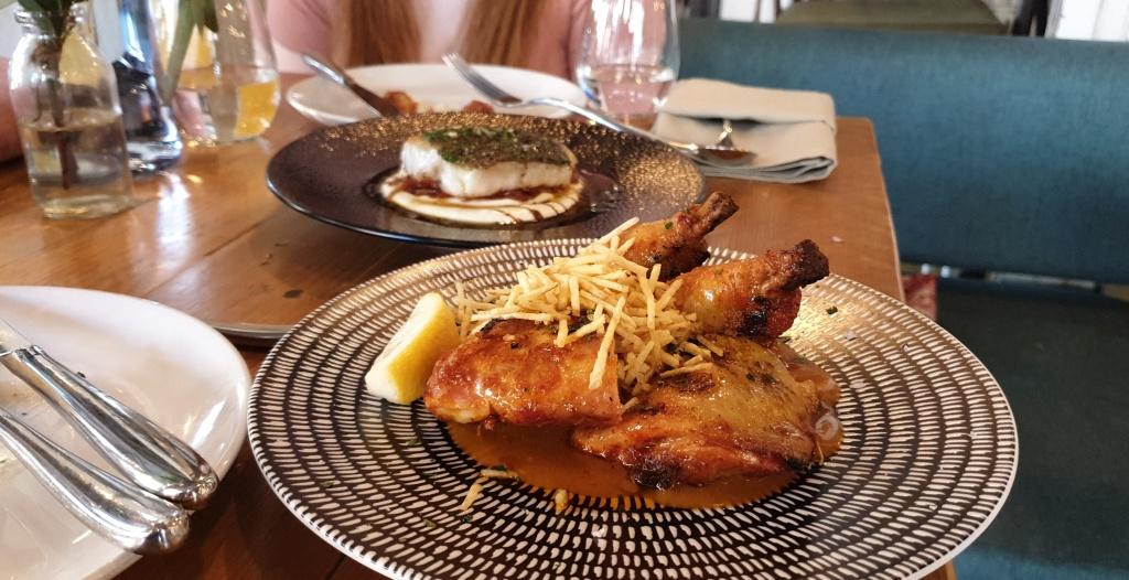 Chargrilled peri peri chicken